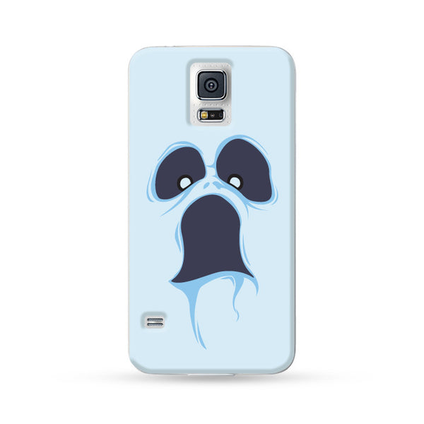 Samsung Galaxy Case Halloween Ghost White 02 | Ultra-case.com