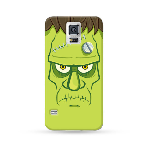 Samsung Galaxy Case Halloween Frankenstein Green 05 | Ultra-case.com