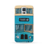 Samsung Galaxy Case Hong Kong Style Blue Bus | Ultra-case.com