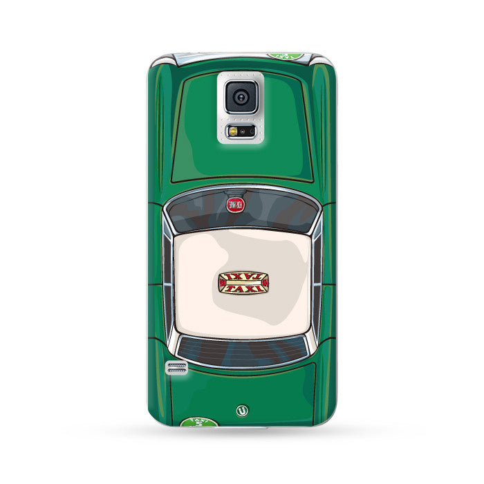 Samsung Galaxy Case Hong Kong Style Green Taxi  | Ultra-case.com
