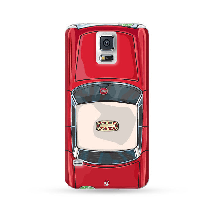 Samsung Galaxy Case Hong Kong Style Red Taxi | Ultra-case.com