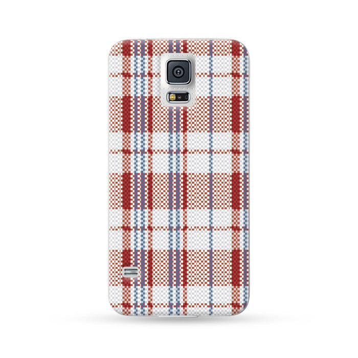 Samsung Galaxy Case Hong Kong Style Red Blue White Strips | Ultra-case.com