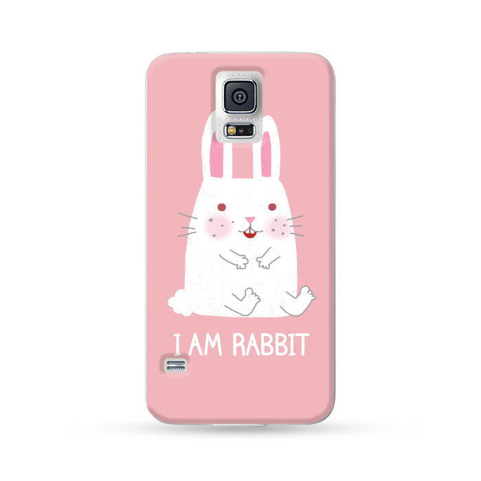 Samsung Galaxy Case I am Rabbit | Ultra-case.com