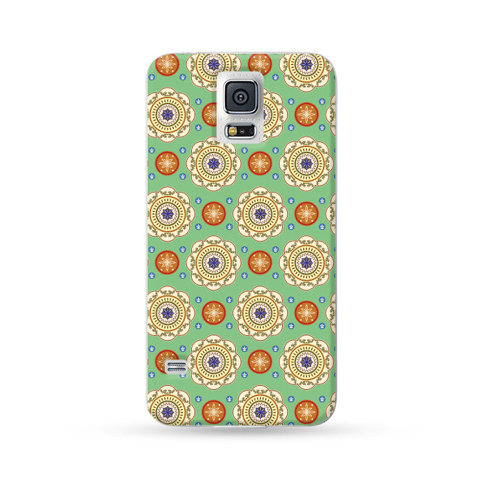 Samsung Galaxy Case Kaleidoscope Green | Ultra-case.com