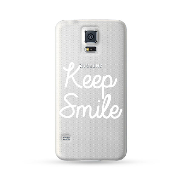 Samsung Galaxy Case Keep Smile | Ultra-case.com