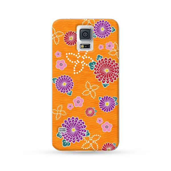 Samsung Galaxy Case Kimono Orange | Ultra-case.com