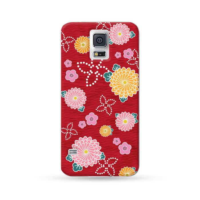 Samsung Galaxy Case Kimono Red | Ultra-case.com