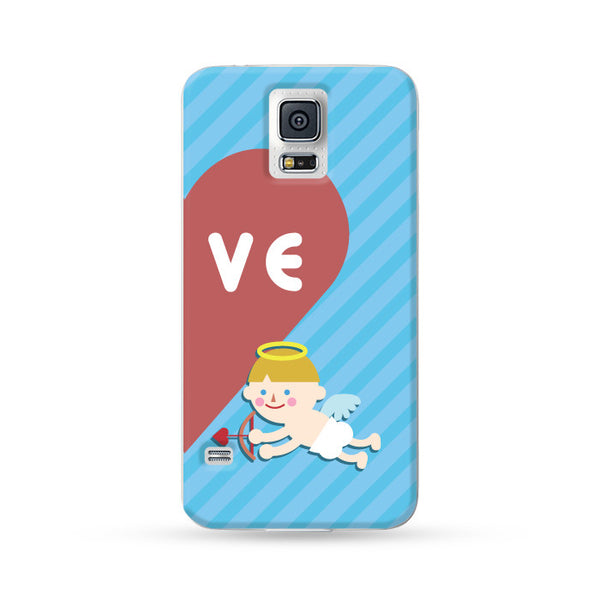 Samsung Galaxy Case Love Couple Blue | Ultra-case.com