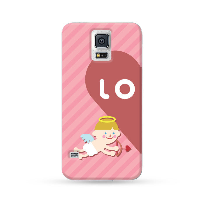 Samsung Galaxy Case Love Couple Pink | Ultra-case.com