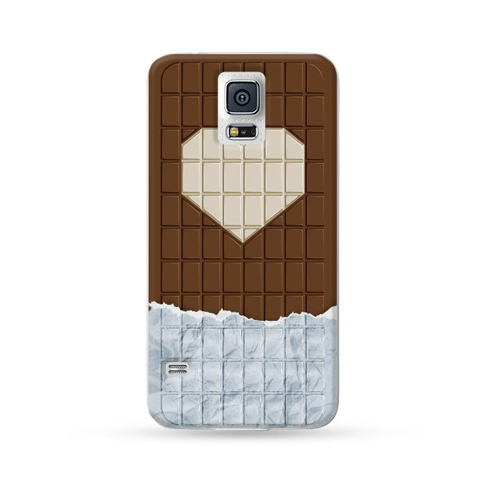 Samsung Galaxy Case Love Chocolate Black | Ultra-case.com