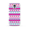 Samsung Galaxy Case Love Pattern Pink | Ultra-case.com