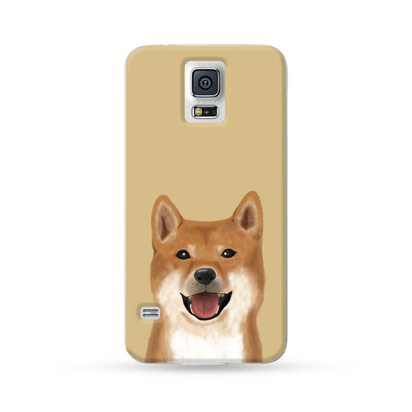 Samsung Galaxy Case My Pets Dog Brown 2 | Ultra-case.com