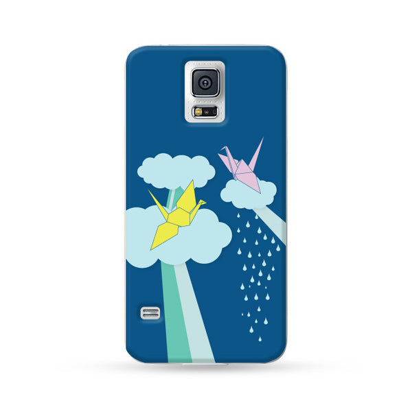 Samsung Galaxy Case Origami Bird | Ultra-case.com