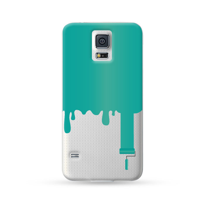 Samsung Galaxy Case Painter Cyan | Ultra-case.com