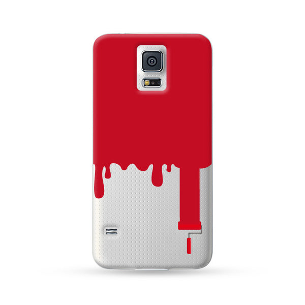 Samsung Galaxy Case Painter Red | Ultra-case.com