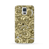 Samsung Galaxy Case Paisley Brown | Ultra-case.com