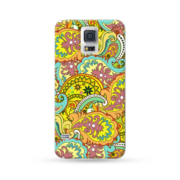 Samsung Galaxy Case Paisley Color 2 | Ultra-case.com