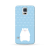 Samsung Galaxy Case Polar Bear Blue | Ultra-case.com