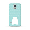 Samsung Galaxy Case Polar Bear Cyan | Ultra-case.com