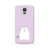 Samsung Galaxy Case Polar Bear Purple | Ultra-case.com