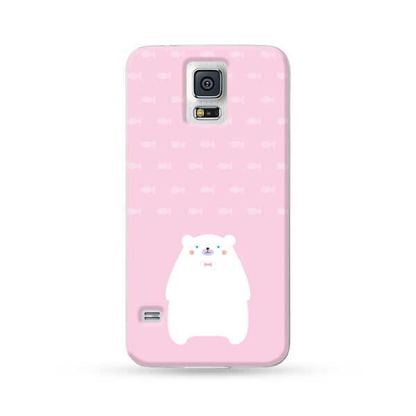 Samsung Galaxy Case Polar Bear Pink | Ultra-case.com