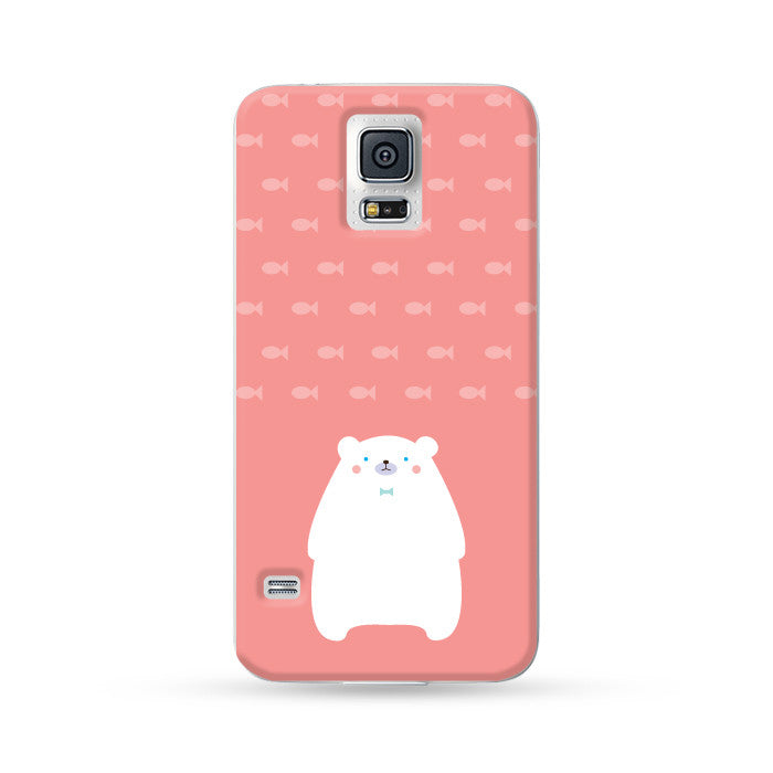 Samsung Galaxy Case Polar Bear Red | Ultra-case.com