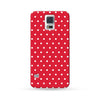 Samsung Galaxy Case Polka Dots Red | Ultra-case.com
