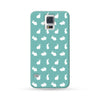 Samsung Galaxy Case Rabbit Cyan | Ultra-case.com