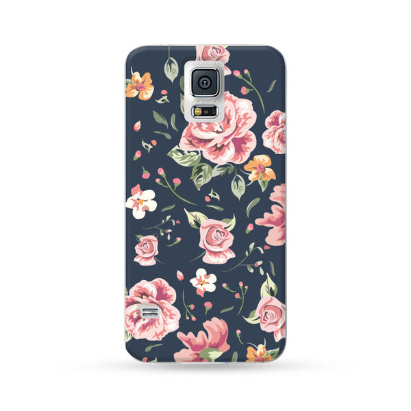 Samsung Galaxy Case Rose Blue | Ultra-case.com