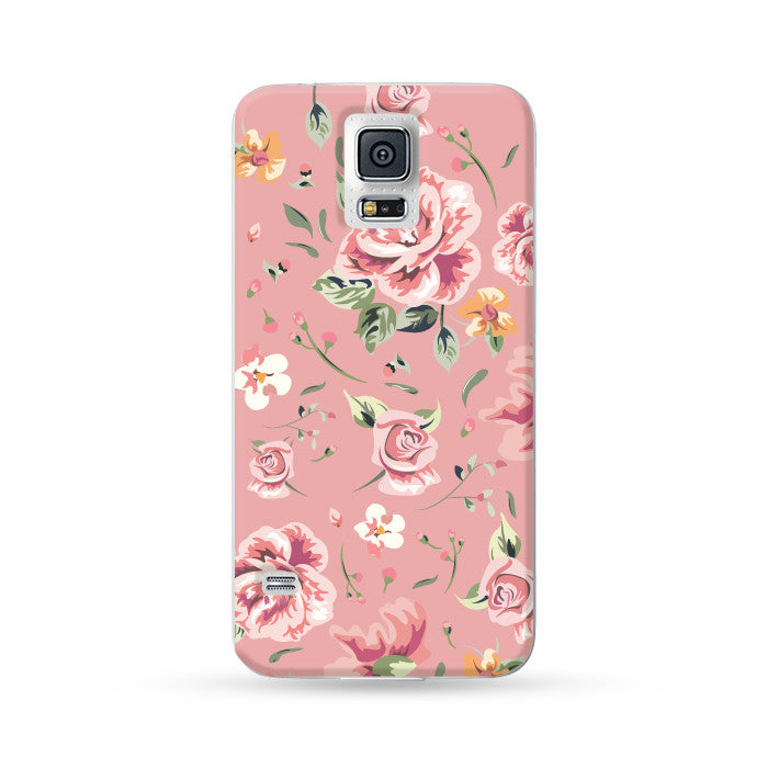 Samsung Galaxy Case Rose Pink | Ultra-case.com