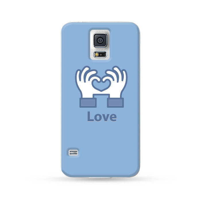Samsung Galaxy Case Social Icon Blue 1 | Ultra-case.com
