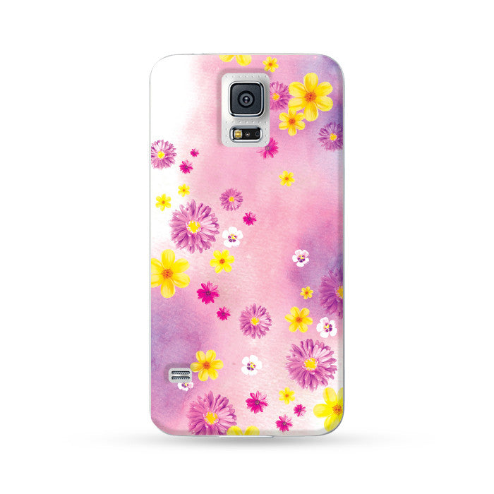 Samsung Galaxy Case Spring Purple | Ultra-case.com