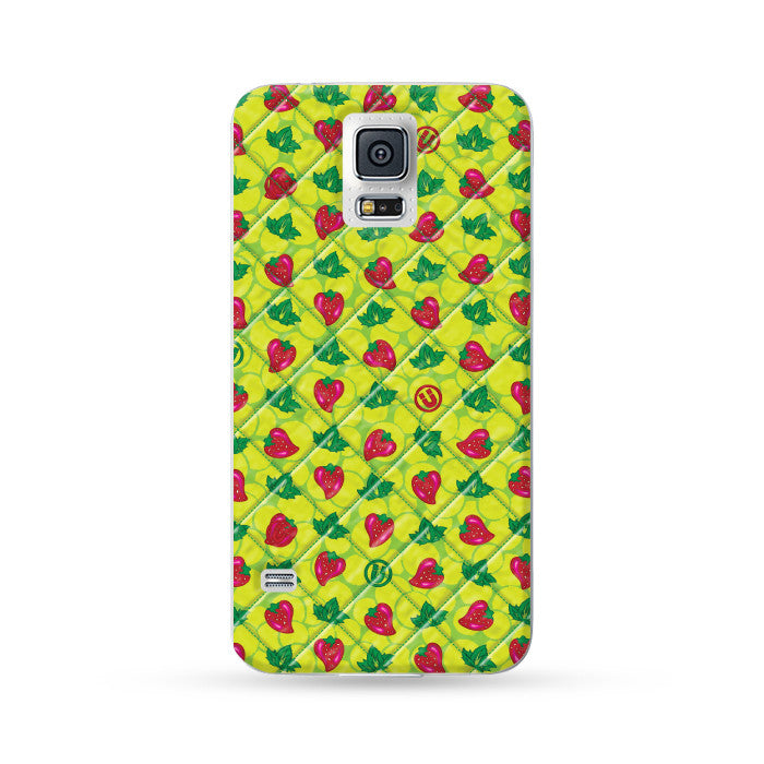Samsung Galaxy Case Strawberries | Ultra-case.com