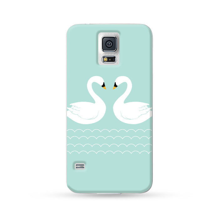 Samsung Galaxy Case Swan | Ultra-case.com