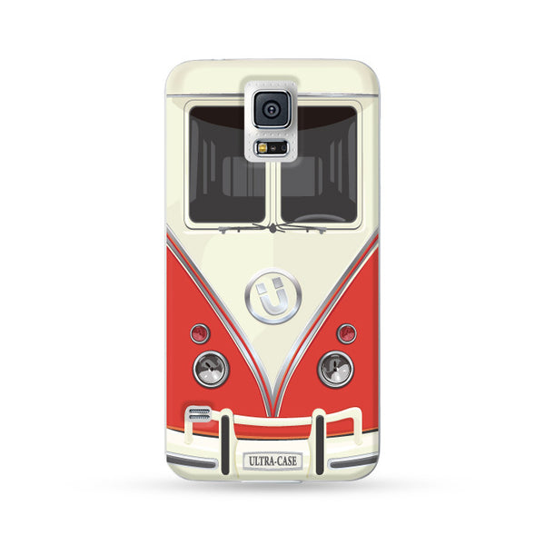 Samsung Galaxy Case Ultra Bus Red | Ultra-case.com
