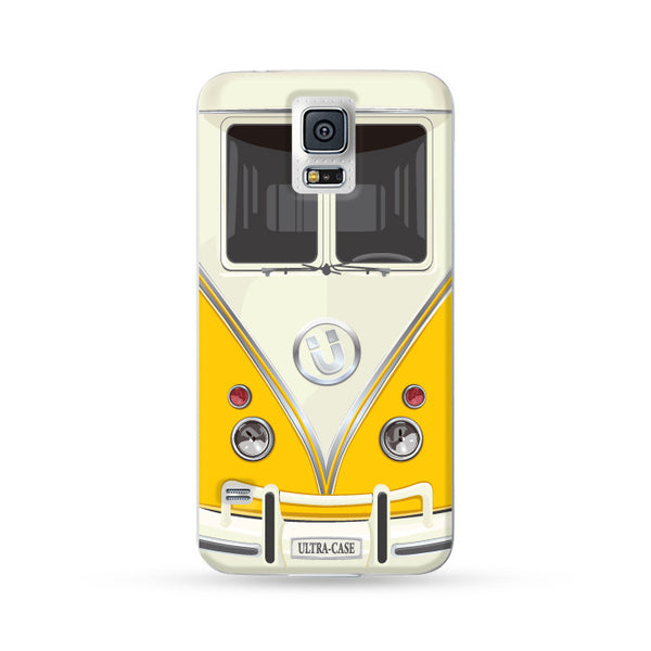 Samsung Galaxy Case Ultra Bus Yellow | Ultra-case.com