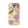 Samsung Galaxy Case Vintage Style Purple | Ultra-case.com