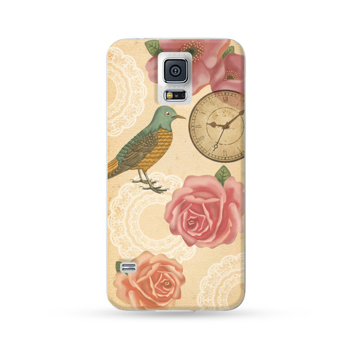 Samsung Galaxy Case Vintage Style Pink | Ultra-case.com