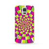 Samsung Galaxy Case Visual Illusion Green | Ultra-case.com