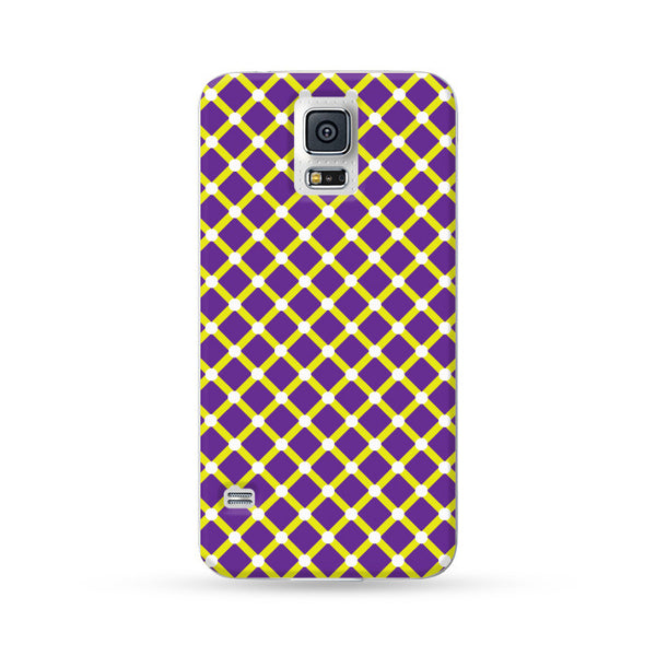 Samsung Galaxy Case Visual Illusion Purple | Ultra-case.com