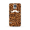 Samsung Galaxy Case Wild Mustache Brown | Ultra-case.com