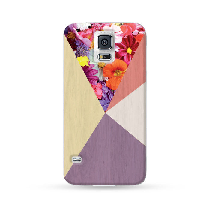 Samsung Galaxy Case Woodwood Brown 17 Red + Purple | Ultra-case.com