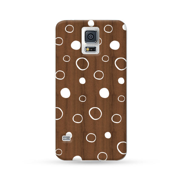 Samsung Galaxy Case Woodwood Brown 03 | Ultra-case.com