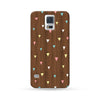 Samsung Galaxy Case Woodwood Brown 04 Triangle | Ultra-case.com