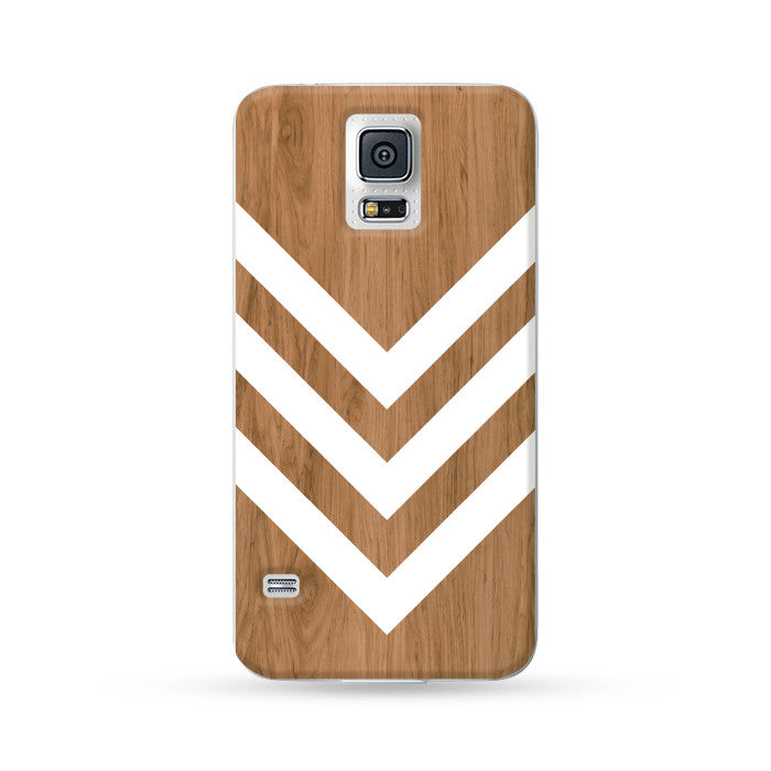Samsung Galaxy Case Woodwood Brown 07 Arrow | Ultra-case.com