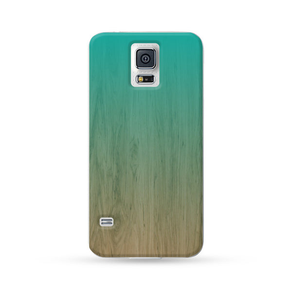 Samsung Galaxy Case Woodwood Brown 08 Green | Ultra-case.com