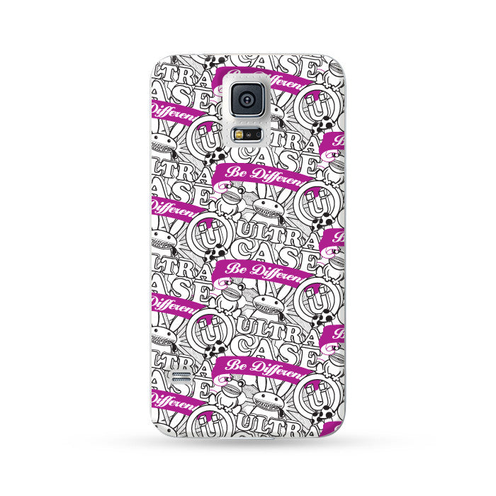 Samsung Galaxy Case Zoo White | Ultra-case.com