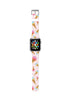 Custom Apple Watch Strap Ice Cream pink pattern  38mm / 40mm  , 42mm / 44mm
