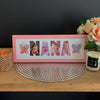 Personalised Word Frames - Create your own word - SMALL SIZE