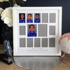 "School Years Photo Frame - 12 photo openings plus two 3x4"" features (with Pre-School/Kindy/Prep)"